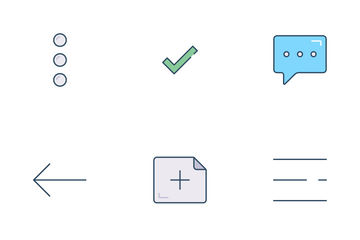 Chat UI Icon Pack