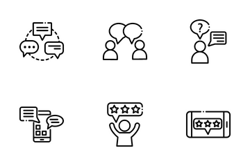 Chatting And Communication Icon Pack