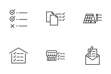 Checklist Icon Pack