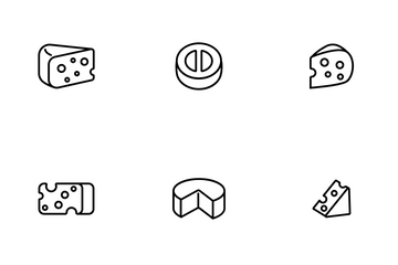 Cheddar Cheese Icon Pack