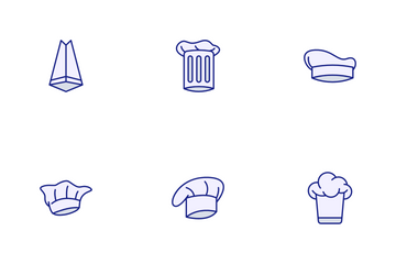 Chef Hat Icon Pack