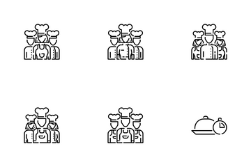 Chef Set Icon Pack