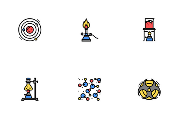 Chemistry Laboratory Icon Pack