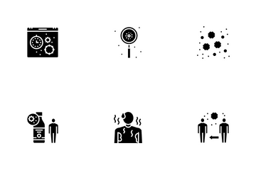 Chicken Pox Disease Icon Pack