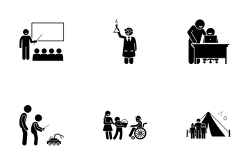 Child Training Icon Pack