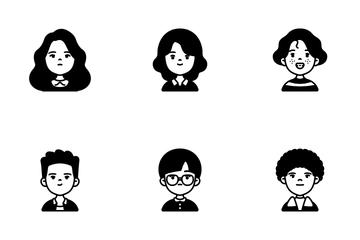 Children Avatar Icon Pack