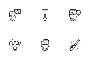Children Dentist Icon Pack