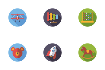 Children's Toys Icon Pack