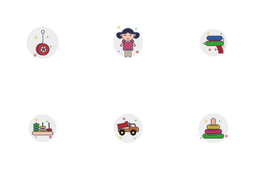 Children Toys Icon Pack