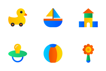 Children Toys Icon Pack