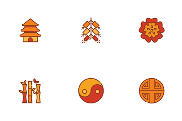 Culture And Chinese New Year Icon Pack