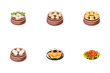 Chinese Dishes Icon Pack