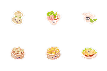 Chinese Food Icon Pack