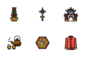 Chinese New Year Icon Pack