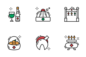 Chinese New Year Icons Icon Pack