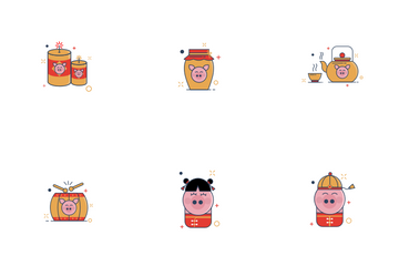 Chinese New Years Icon Pack
