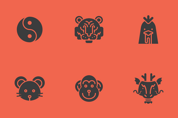 Chinese Zodiac Icon Pack