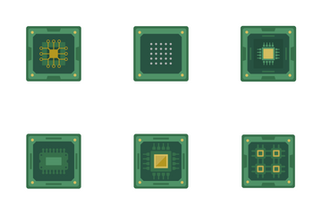 Chips And CPU Icon Pack