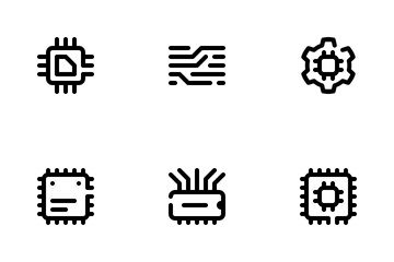 Chipset & Circuit Icon Pack