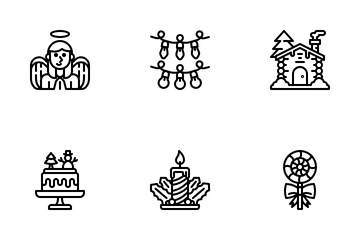 Chirstmas Party Icon Pack
