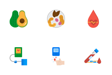Cholesterol Icon Pack