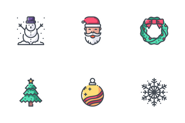 Christmas - 2018 Icon Pack