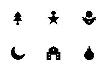 Christmas And Easter Icon Pack
