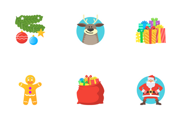 Christmas And New Year Icon Pack