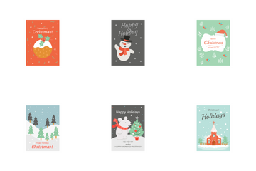 Christmas Cards Icon Pack