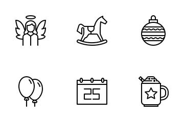 Christmas Collection Icon Pack