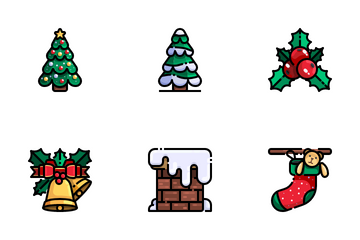 Christmas Day Icon Pack