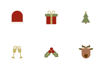 Christmas Decoration Icon Pack