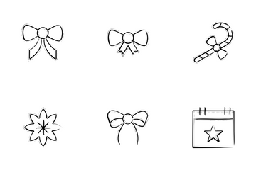 Christmas Doodle Icons Icon Pack