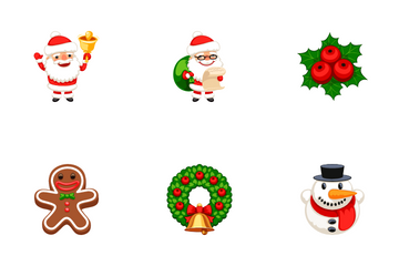 Christmas Emojis Icon Pack