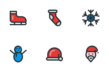 Christmas (Filled Line) Icon Pack