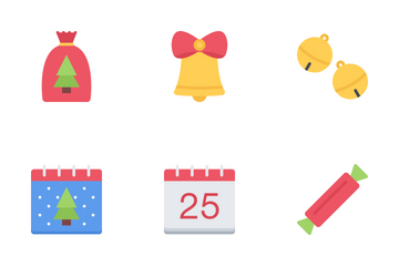 Christmas Flat Icon Pack