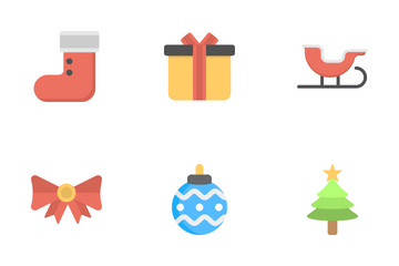 Christmas Flat Icons 1 Icon Pack