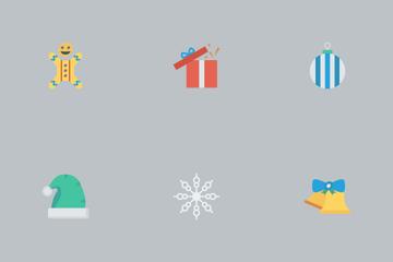 Christmas Flat Vol 1 Icon Pack
