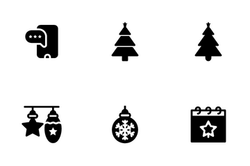 Christmas Holidays Icon Pack