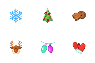 Christmas New Year Icon Pack