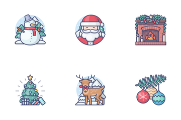 Christmas & New Year Vol.1 Icon Pack