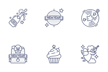 Christmas & New Year Vol.2 Icon Pack