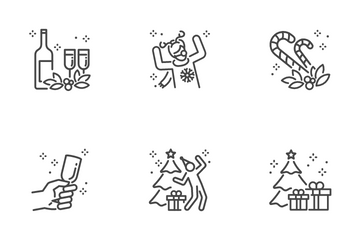 Christmas Party Icon Pack