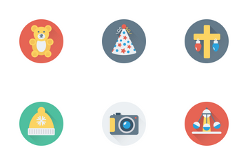 Christmas Party And Celebrations Icon Pack