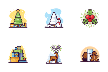 Christmas Set Icon Pack