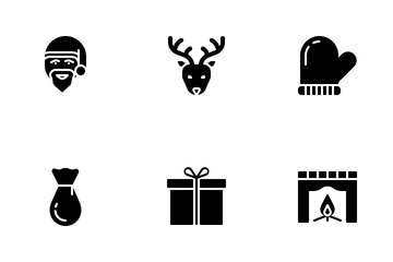 Christmas (Solid 64) Icon Pack