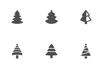 Christmas Tree Icon Pack