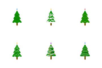 Christmas Tree Set Icon Pack