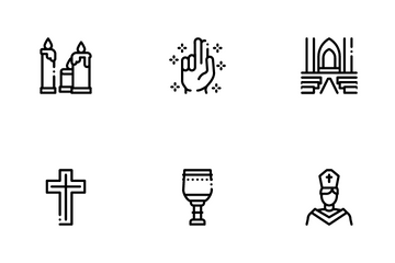 Church Christianity Icon Pack