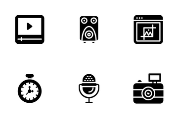 Cinema And Film Making Icon Pack